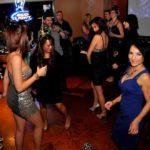 Ladies dancing in downtown Boise bar