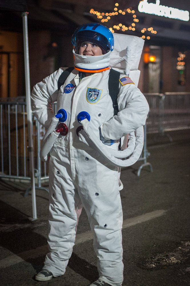 Astronaut in downtown Boise