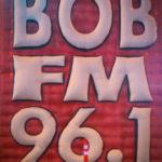 Bob FM sign