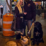 Family with Dogs in Downtown Boise