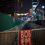 Bob FM sign in downtown Boise