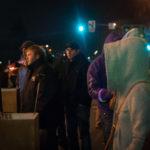 People watching festivities at the Idaho Potato Drop 2015