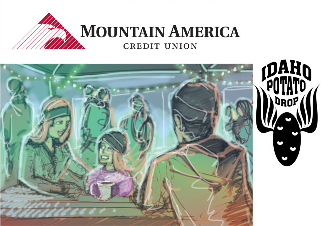 The Mountain America Credit Union Heated Family Tent